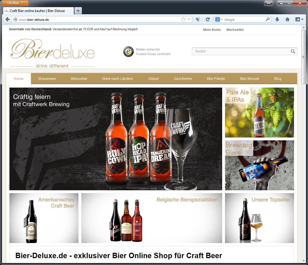 Bier-Deluxe Startseite