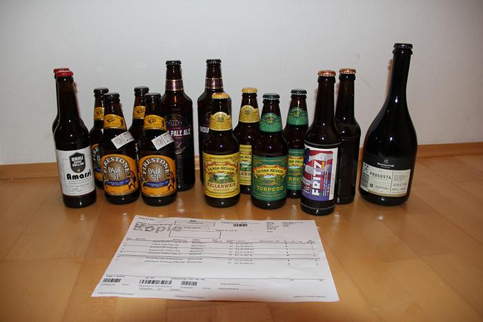 Bier-Deluxe Bestellung