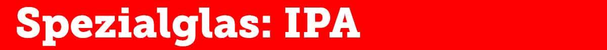 IPA Glas Überschrift