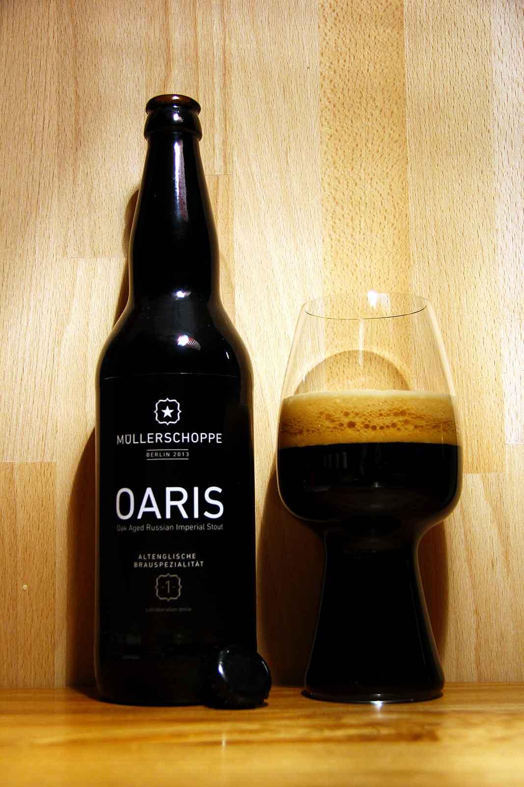 Tasting OARIS mit Spiegelau Stout Glas