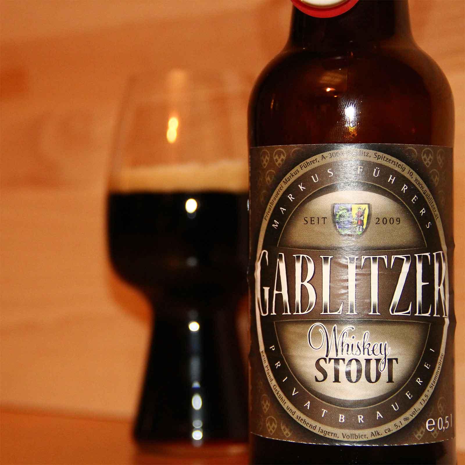 Whisky Stout aus Gablitz