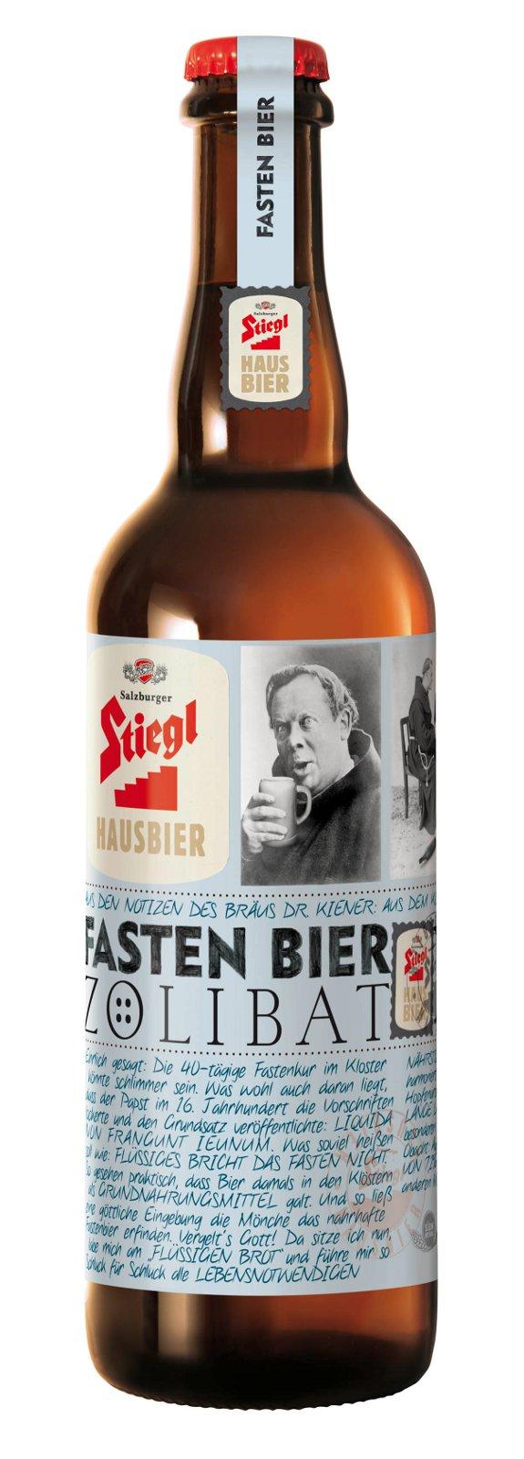 Zölibat Flasche von Stiegl