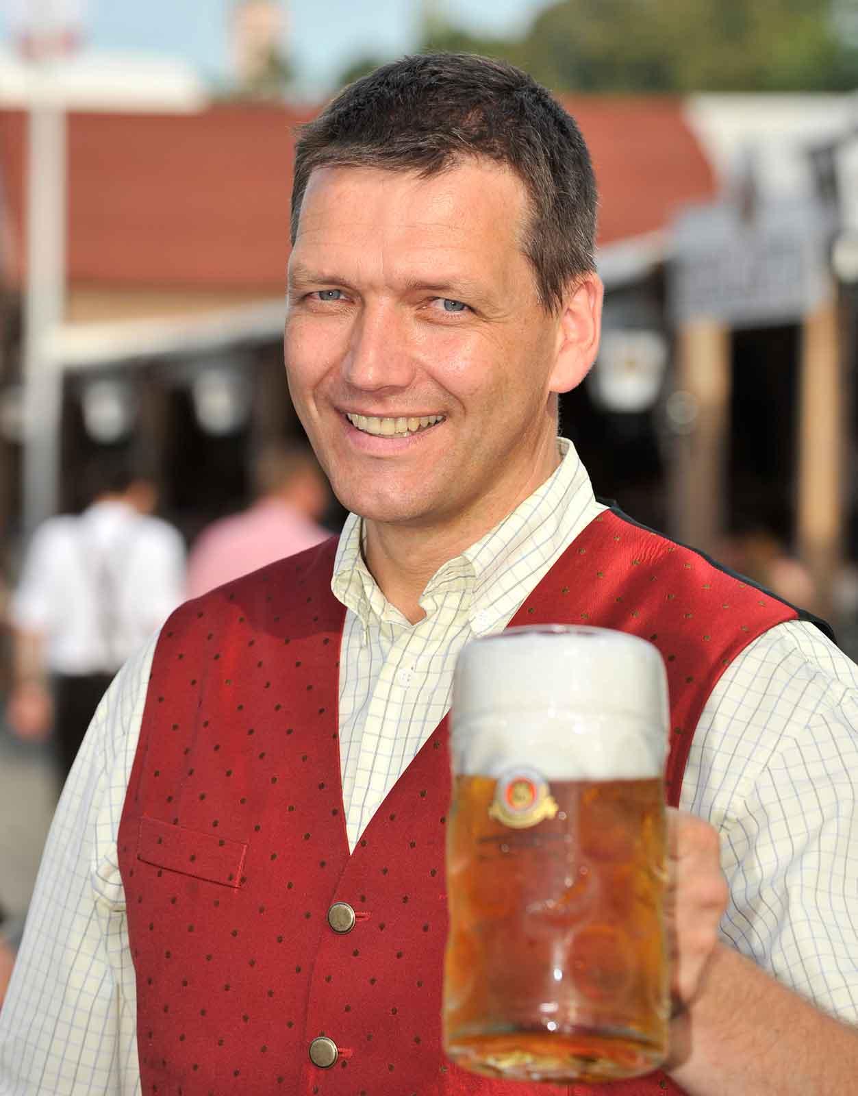 Verbandspräsident Christoph Kämpf