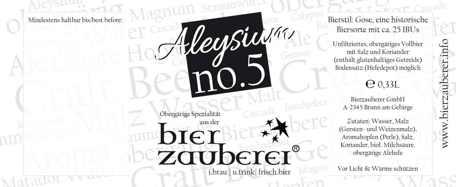Etikett Aleysium5